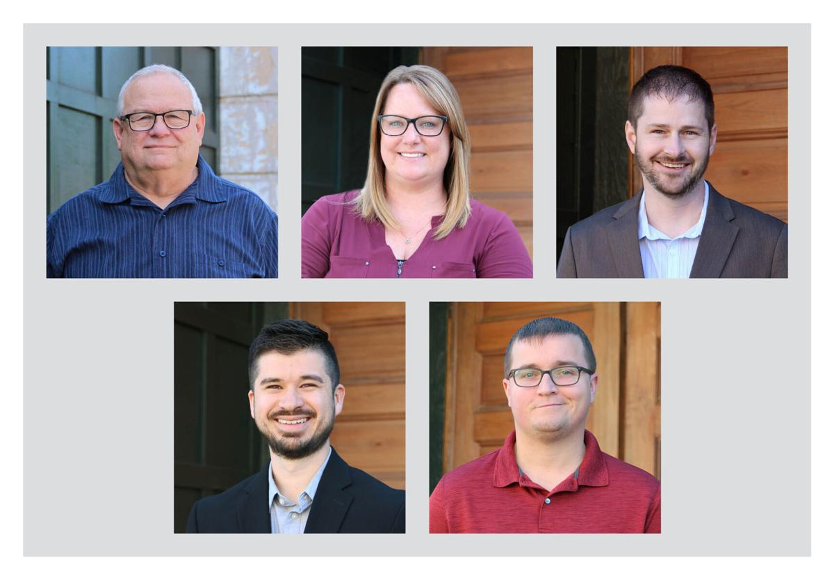 (Top Row, Names L to R): Richard Canada, Amanda Holguin, Travis Smith (Bottom Row, Names L to R): Dominick Johnson, Dalton Webb
