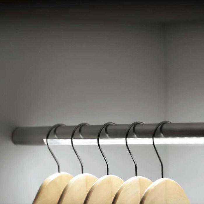 Lighted Closet Rod