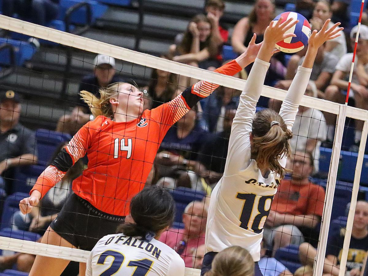 O'Fallon vs. Edwardsville volleyball