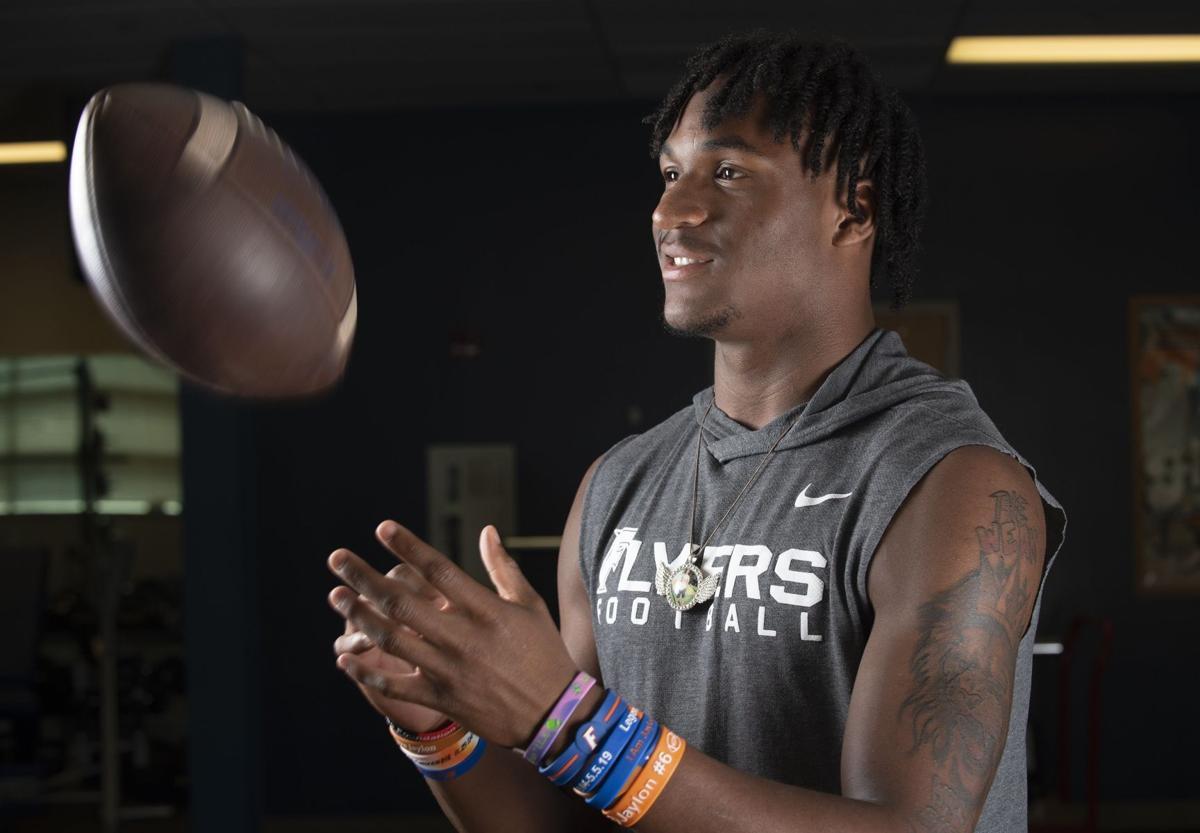 East St. Louis receiver Luther Burden