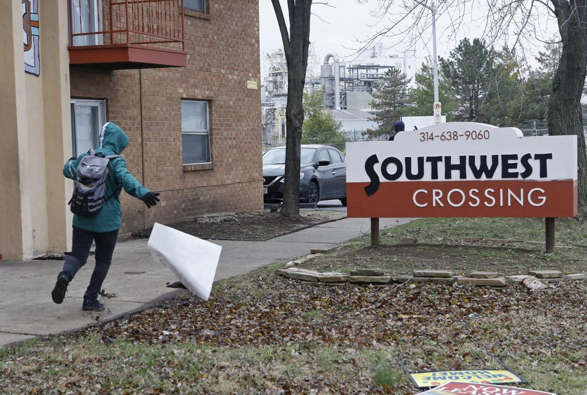 Tenants go on rent strike against T.E.H. Realty at Southwest Crossing Apartments