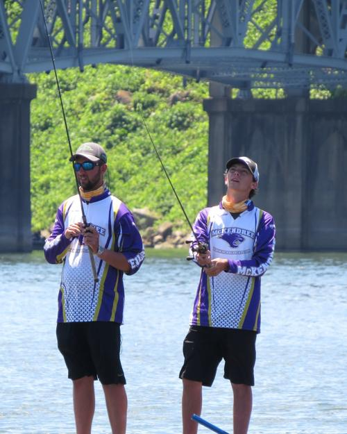 McKendree bass fishing