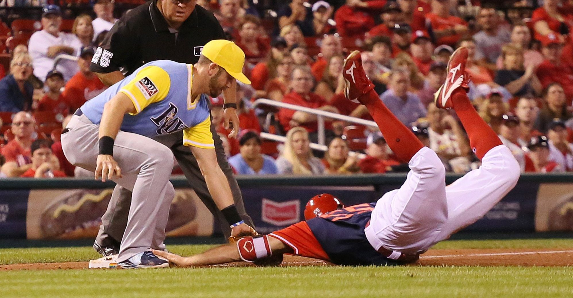 Dickerson Gets 4 Hits As Rays Beat Cardinals 7-3