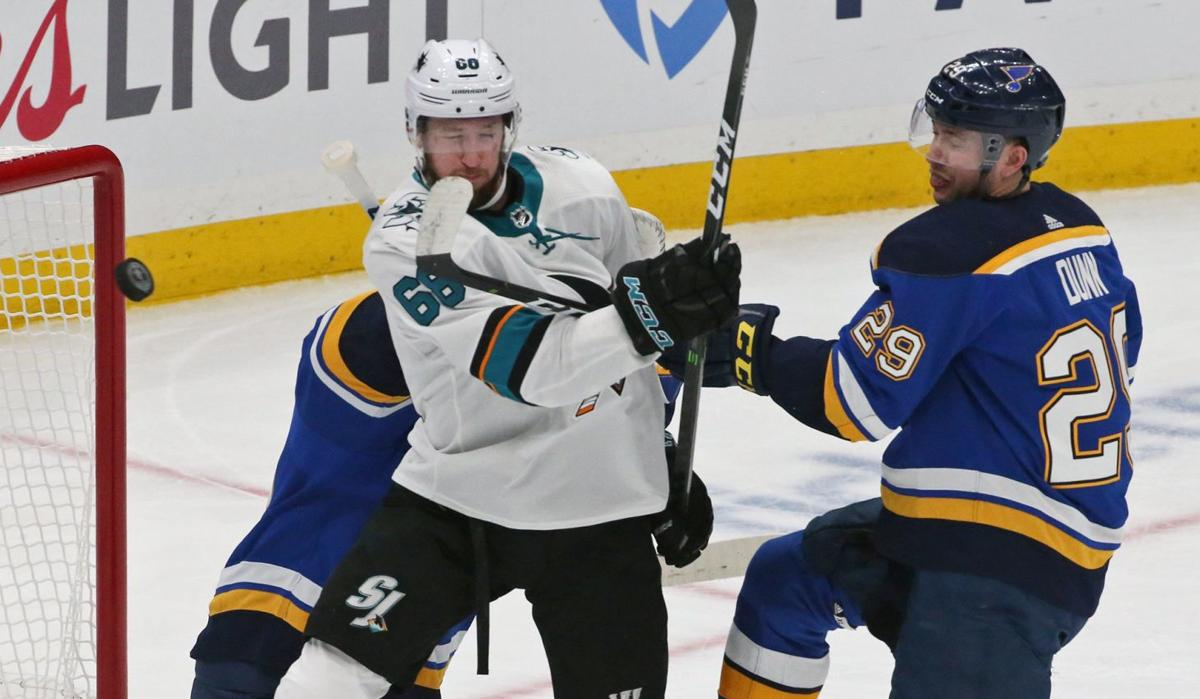Blues and Sharks square off in game 3 of the semifinals