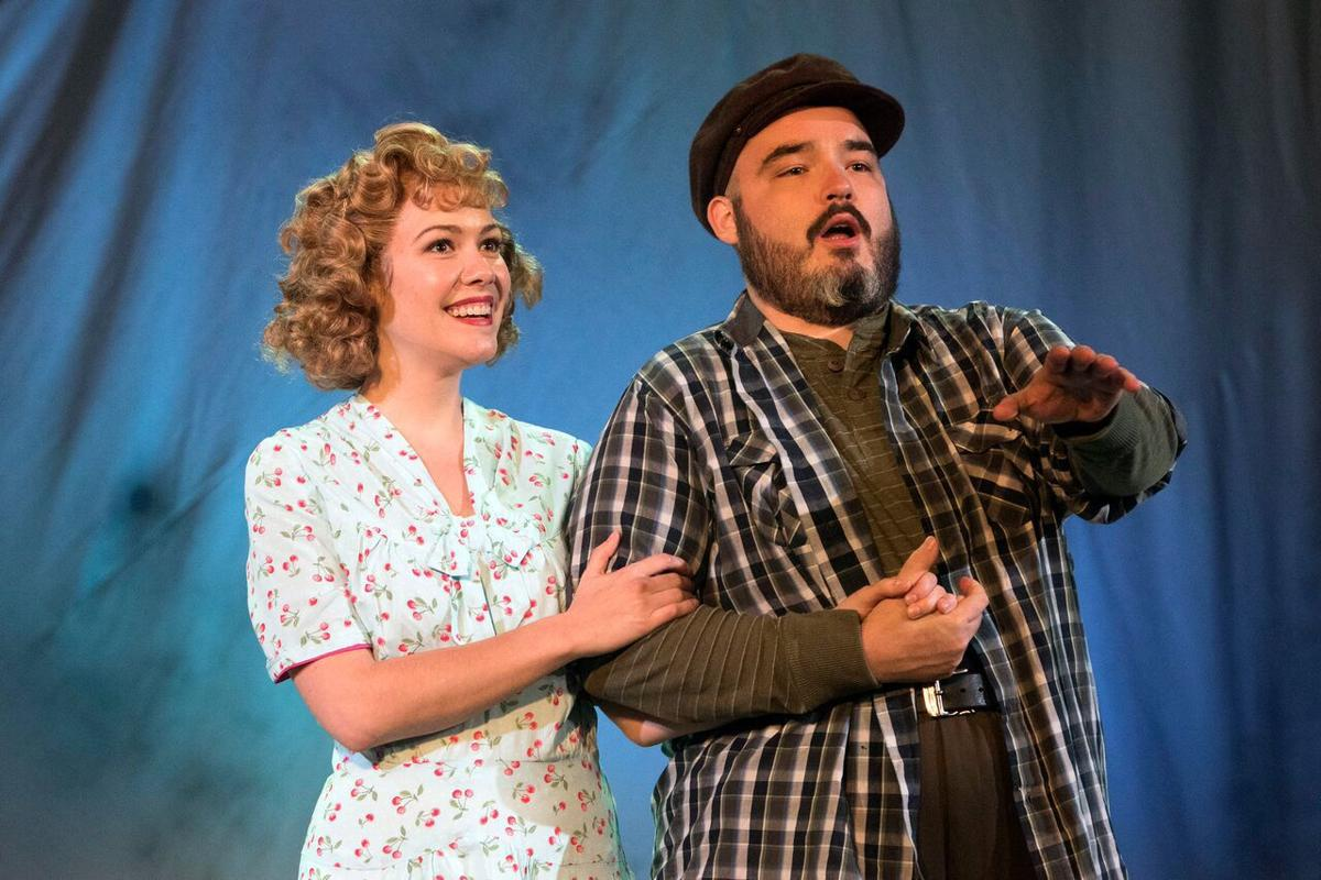 Christine Amon and Anthony Webb in 'Carousel' at Union Avenue Opera