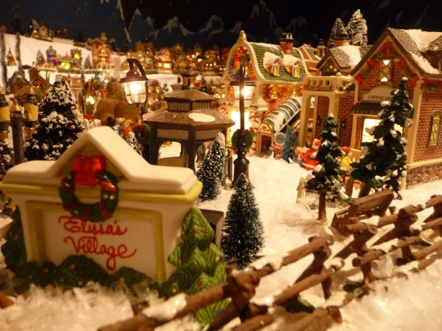 Weldon Spring woman goes all out with Christmas village display ...