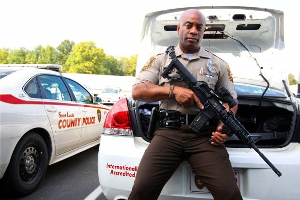 County police officers can carry their own rifles