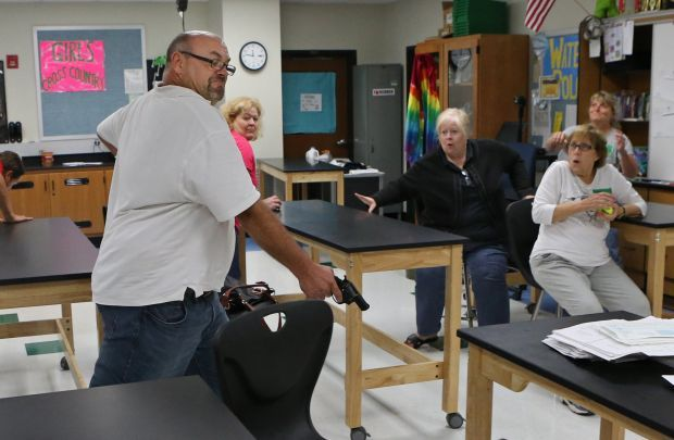 Parkway teachers train for school intruders