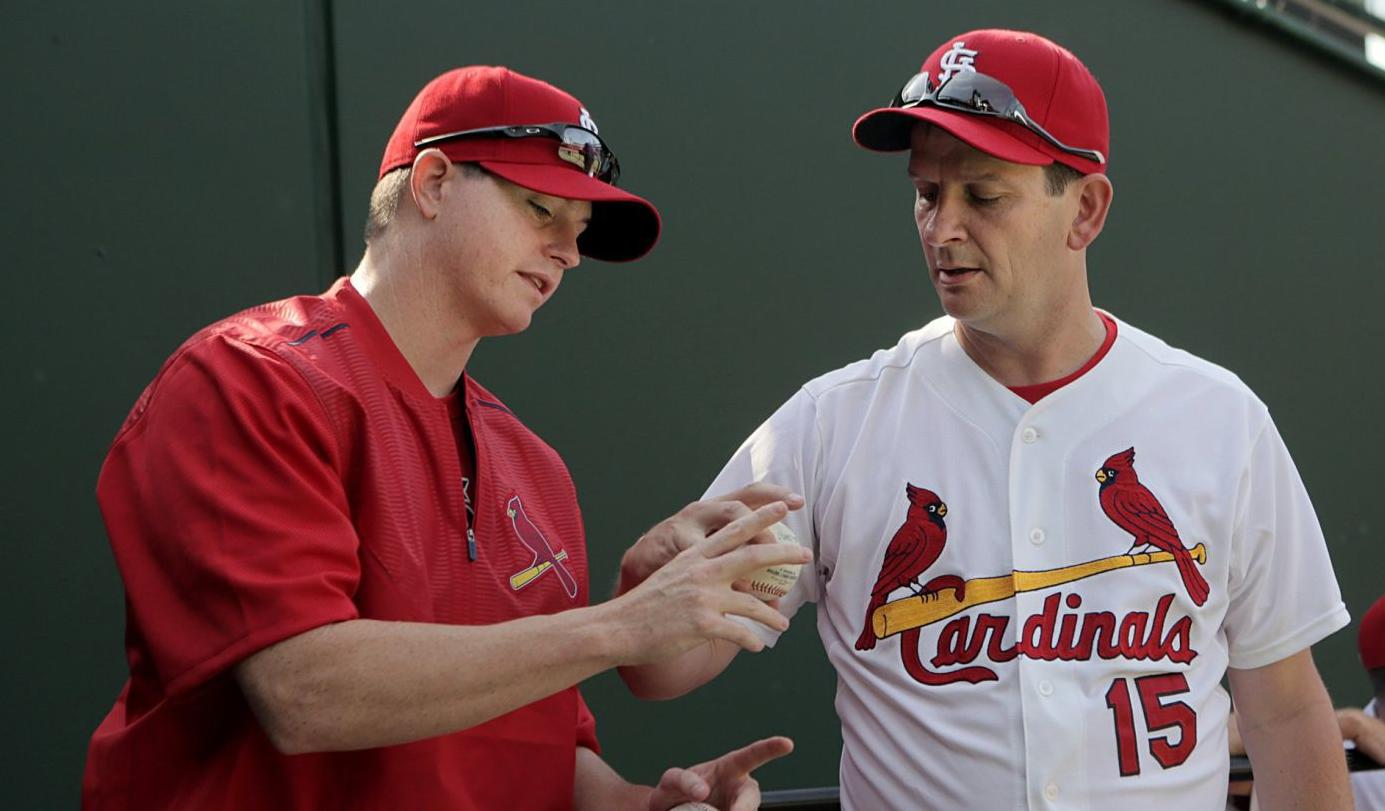 When you watch Cardinals games, you'll see more Brad Thompson this season