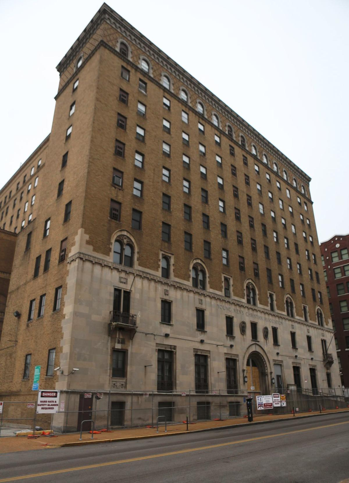 Former YMCA building