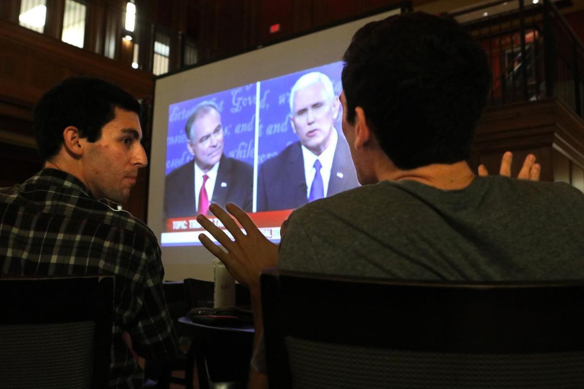 Wash U students take in presidential politics