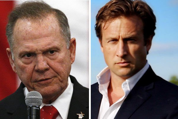 Roy Moore and Courtland Sykes