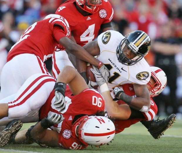 Missouri played Nebraska in a Big 12 conference football game at Lincoln, Neb.