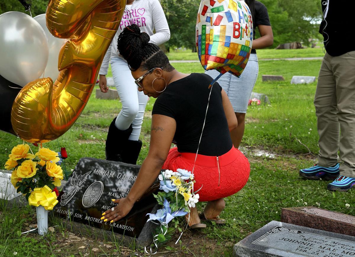 Michael Brown birthday grave visit