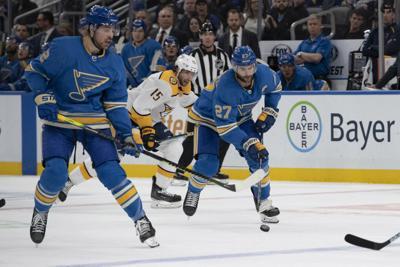 Blues take on Predators