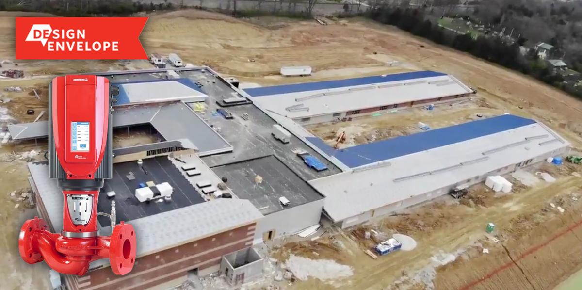 Midwest Machinery's suggestion of installing Armstrong Design Envelope VIL pumps will save the new Journey Elementary school approximately $60 thousand.