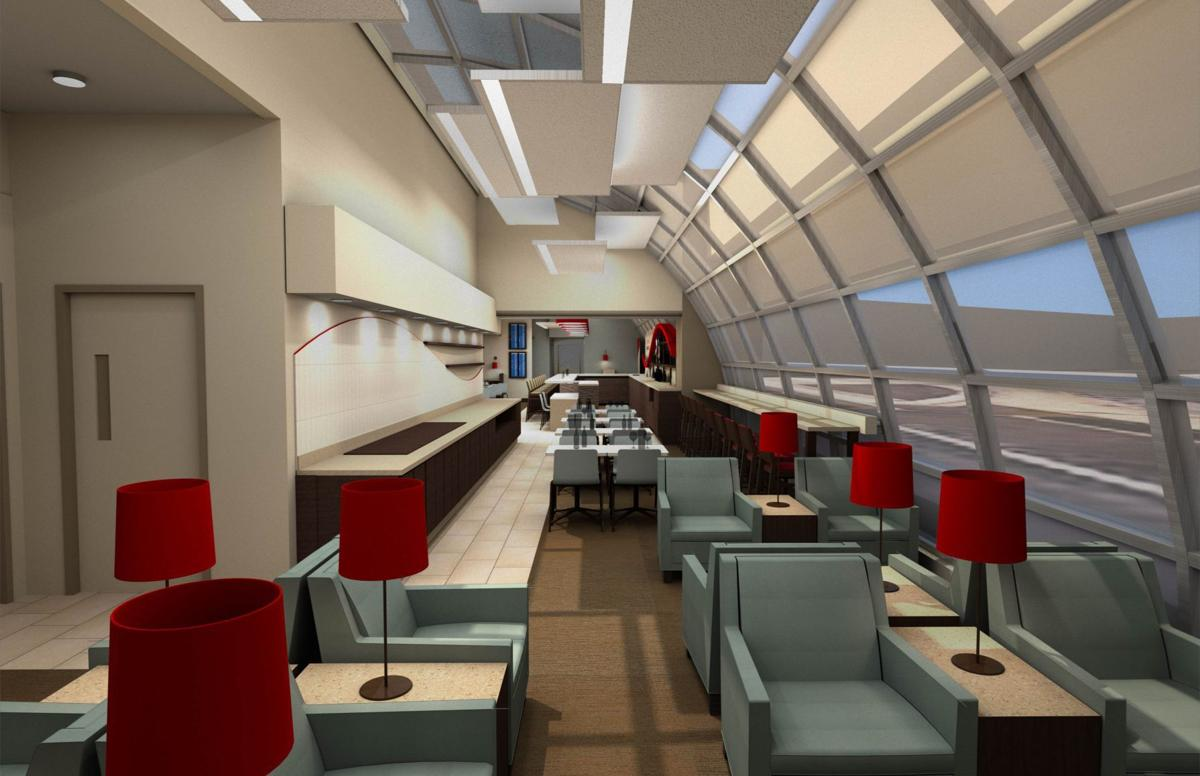 Ba Lounge Terminal 3 >> Limited access club to open at Lambert's Terminal 2 ...