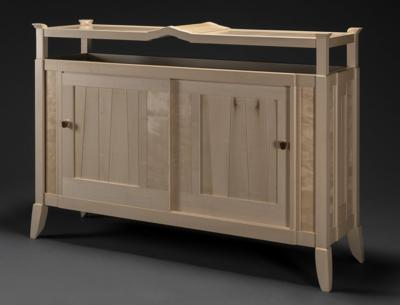 Cabinet designed by Charles Radtke