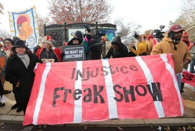 Clayton protest