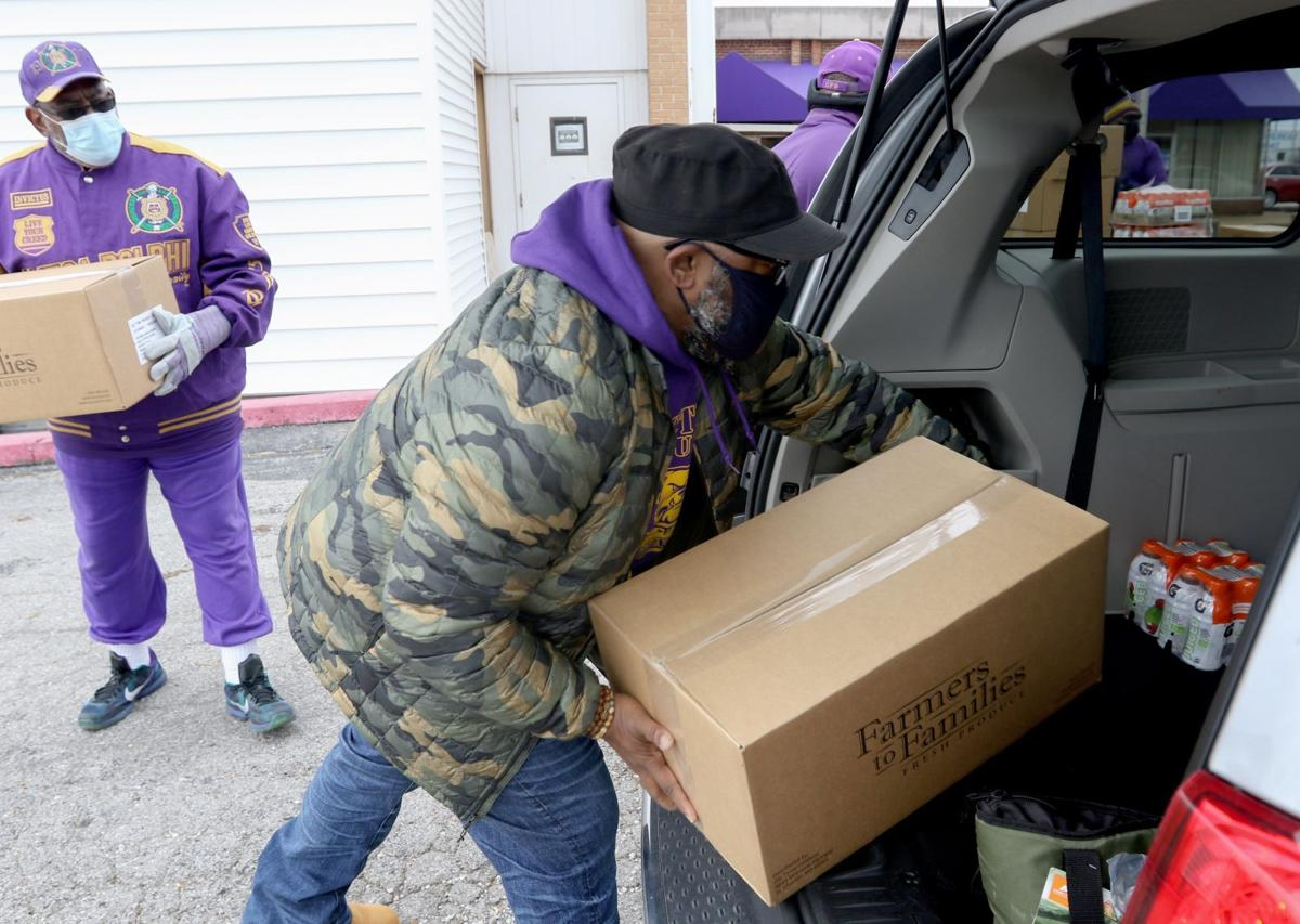 NAACP holds food distribution and voter event in St. Louis