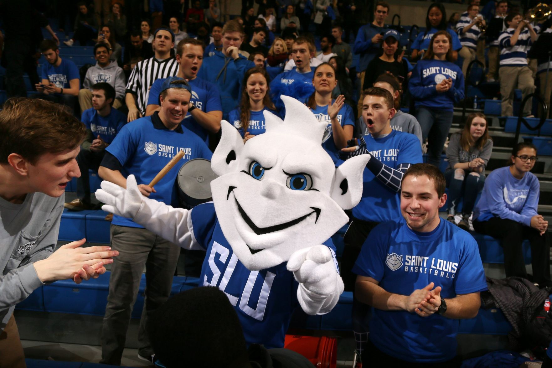 Second time a charm SLU unveils new new Billiken mascot