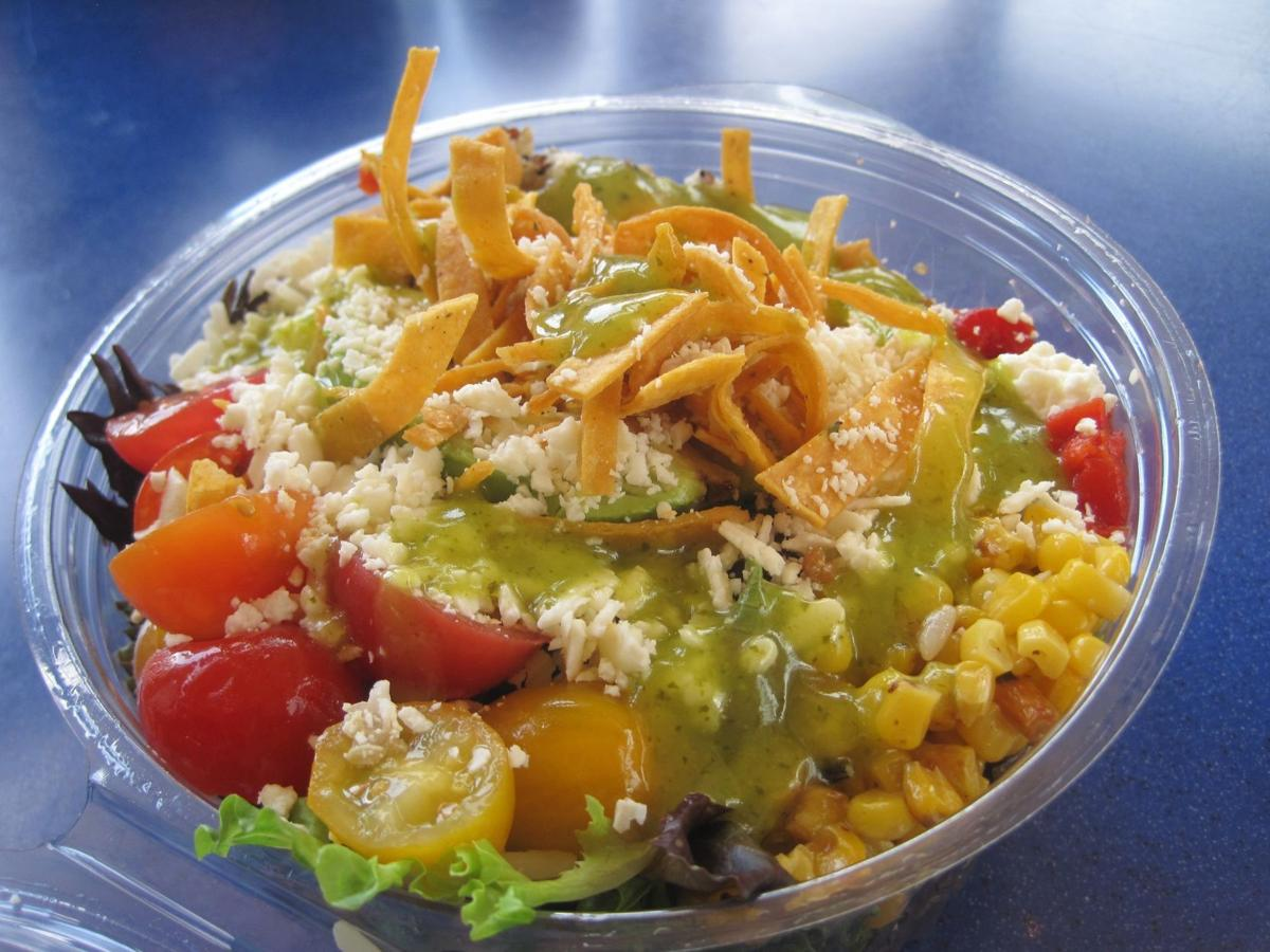 Special Request Greens and Grains salad from Hi-Pointe Drive In for publication July 21, 2021