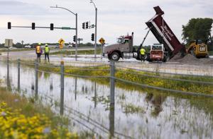 メッセンジャーからAtchisonシステムメリーランドハイツを中心とした洪水、河川ルームを放浪