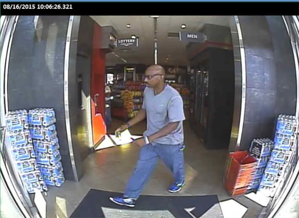 St  Louis County police release surveillance of man, vehicle