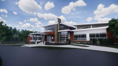 Rendering of New Simon Field House