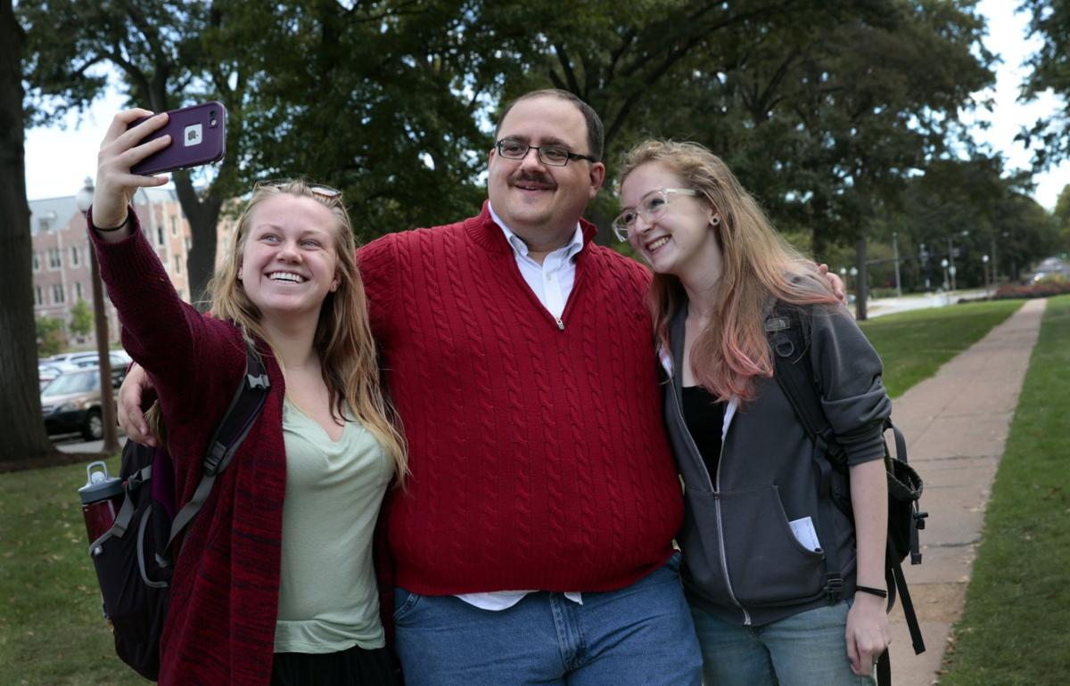 Debate celebrity Ken Bone taking fame in stride
