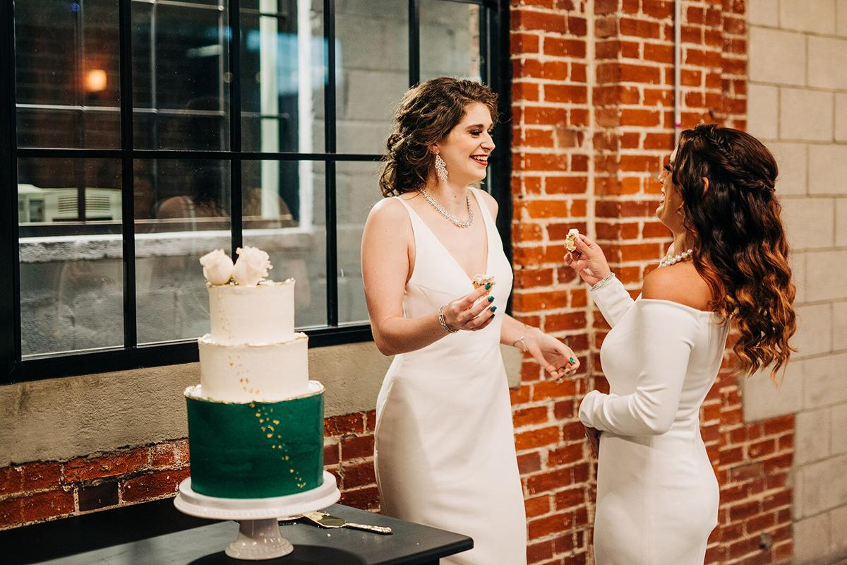 Emerald & Edgy Styled Shoot with Sami G at The Ink House
