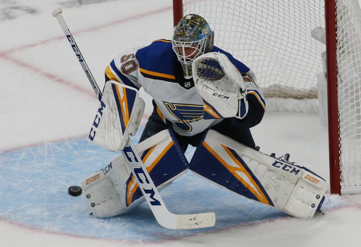 Blues and Sharks skate in game 5 of the semifinals