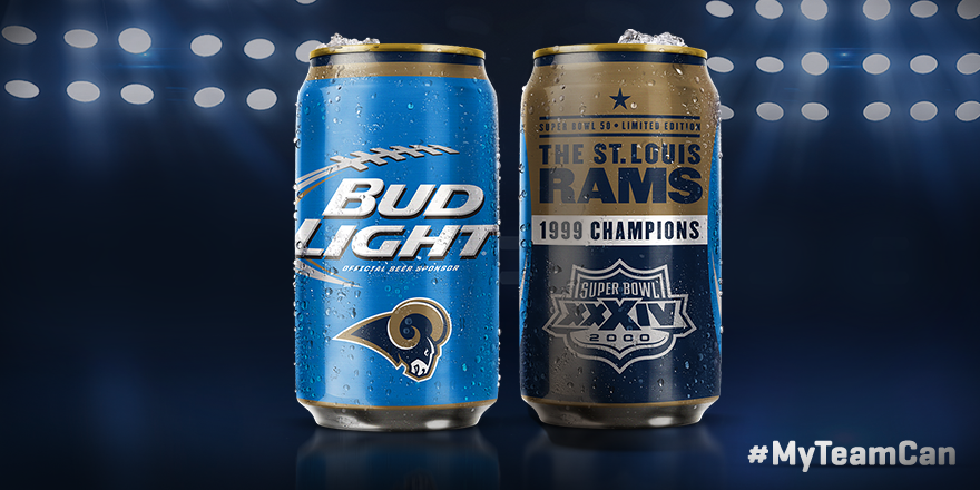 Awesome Bud Lightu0027s New Super Bowl Can. Images
