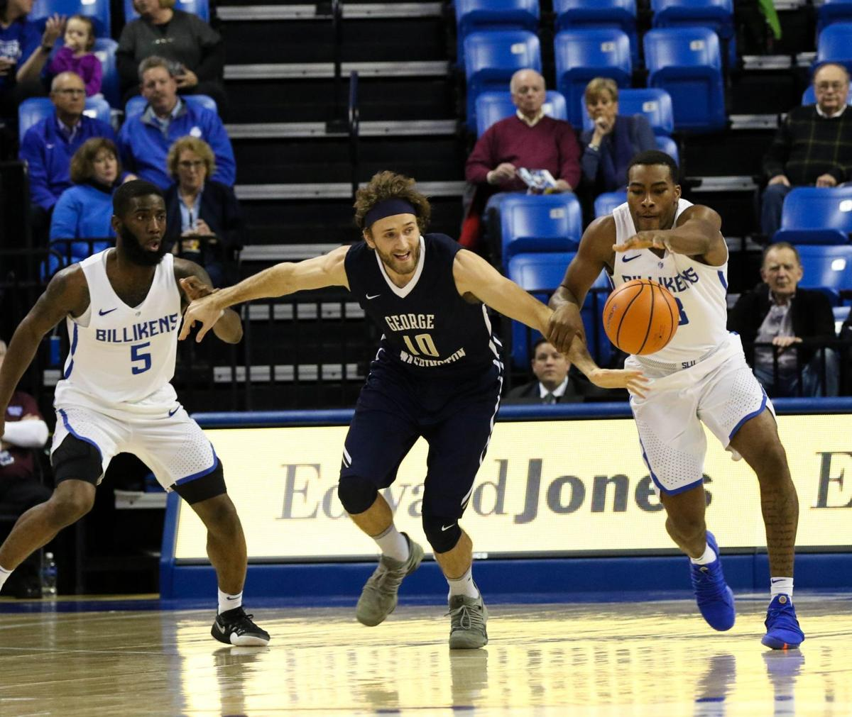 SLU vs George Washington Colonials
