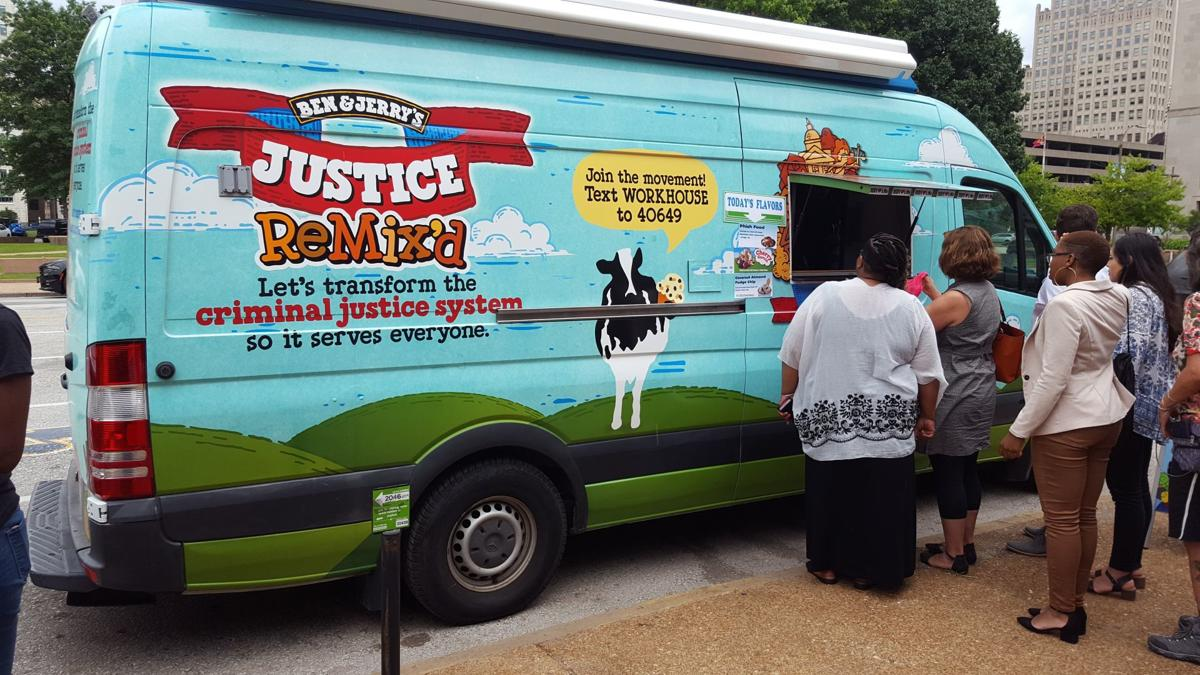 Ben and Jerry's truck