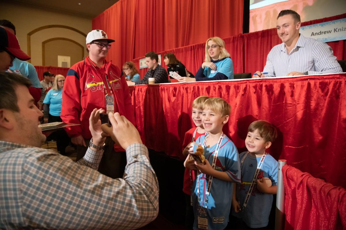 Photos: Fans get up close with Cardinals at Winter Warm-Up