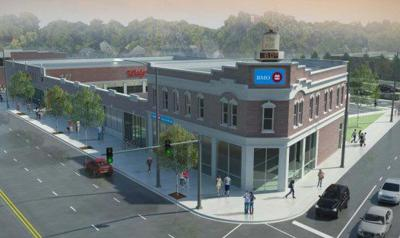 Rendering of latest Southwest Bank proposal