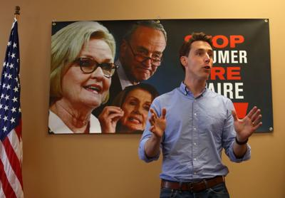 Hawley condemns McCaskill's voting record at Imperial rally