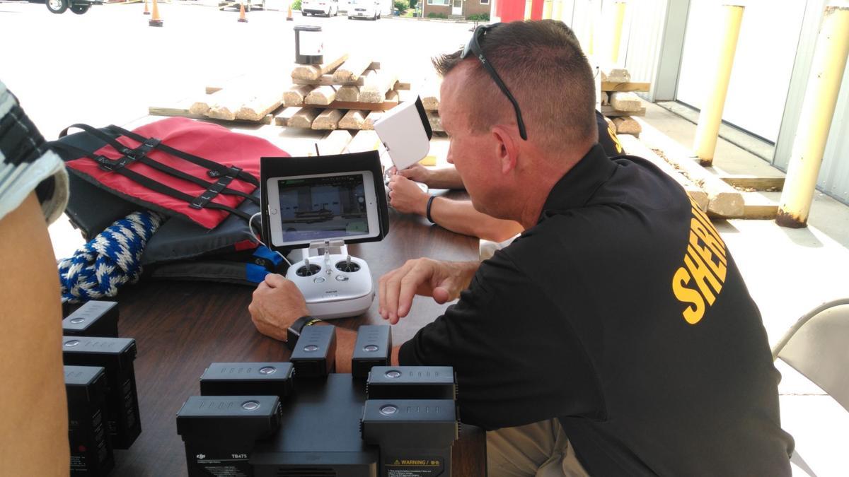 Madison County Sheriff's deputy drone