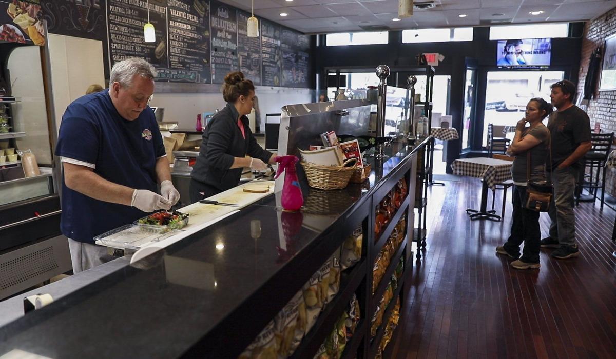 Valenti's Delicatessen reopens the diningroom