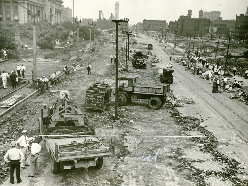Photos: Work in the '20s and '30s widened several St  Louis