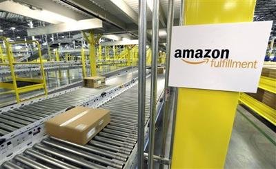 Amazon has 3Q sales surge as holidays approach