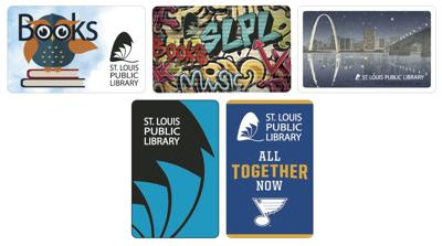 New St. Louis Public Library cards