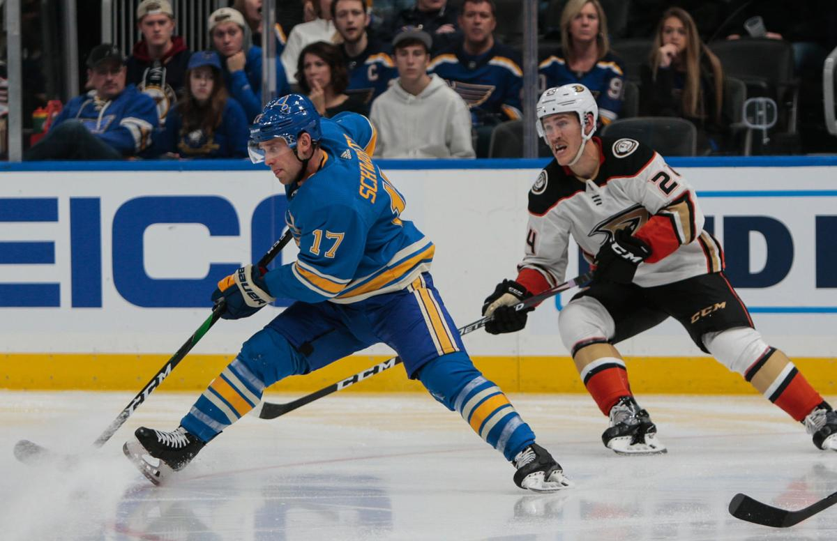 Blues take on Ducks on Nov. 16, 2019