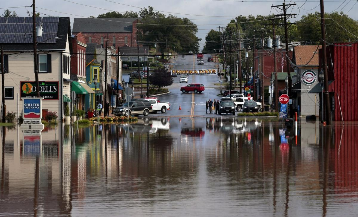 Flash flooding hits Eureka