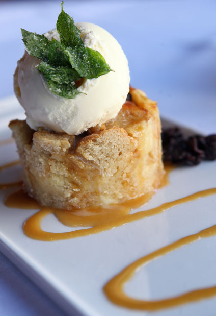 Bread pudding from Sunset 44 Bistro