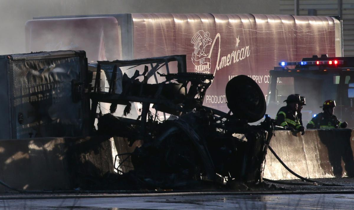 Truck fire closes Highway 370 in St. Charles County