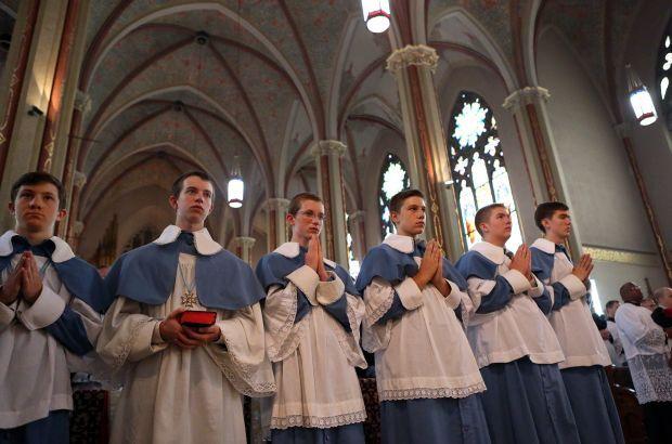 Ordination at St. Francis de Sales