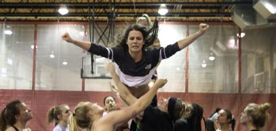 They'll teach you how to stunt: St. Louis-area colleges showing off new women's sport