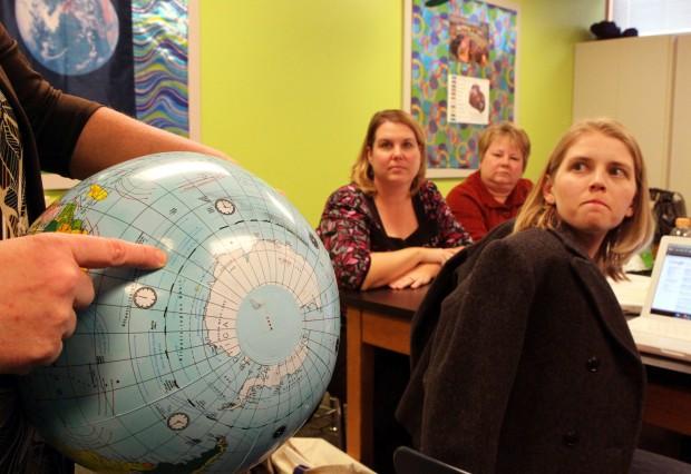 Teachers get schooled on science of new ocean
